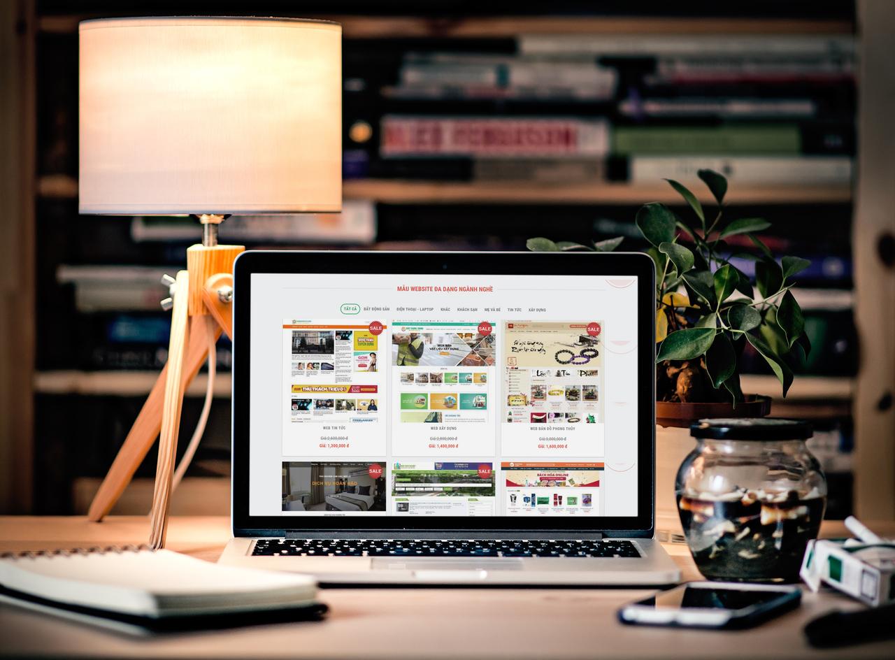 Thiết kế web in ấn bao bì