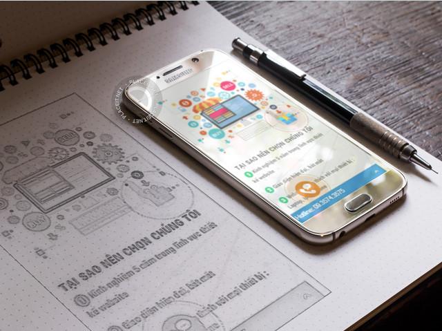 Thiết kế web bán tượng thạch cao