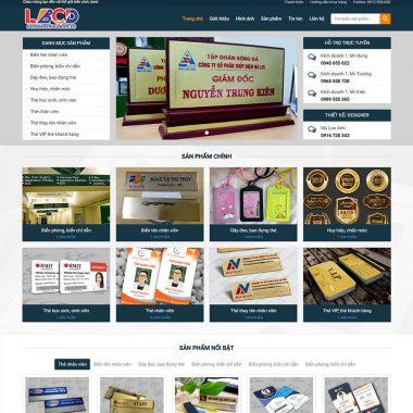 Thiết kế web biển quảng cáo