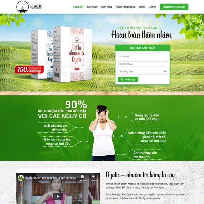 Thiết kế web bán dược phẩm