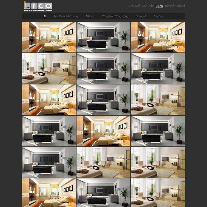 Thiết kế web kiến trúc xây dựng
