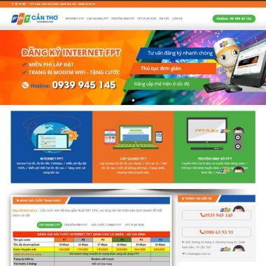 Thiết kế web lắp mạng internet