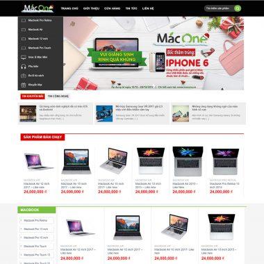 Thiết kế web bán laptop