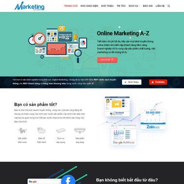 Thiết kế web giới thiệu doanh nghiệp