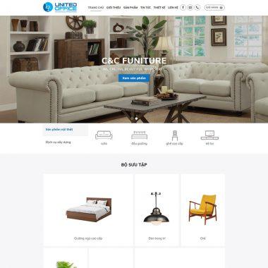 Thiết kế web nội thất cao cấp