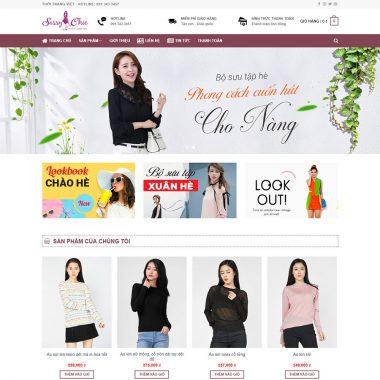Thiết kế web bán hàng thời trang nữ