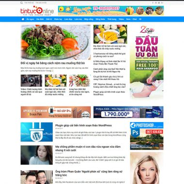 Thiết kế web tin tức báo chí