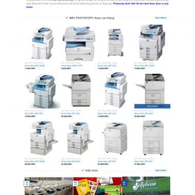 thiet ke web photocopy