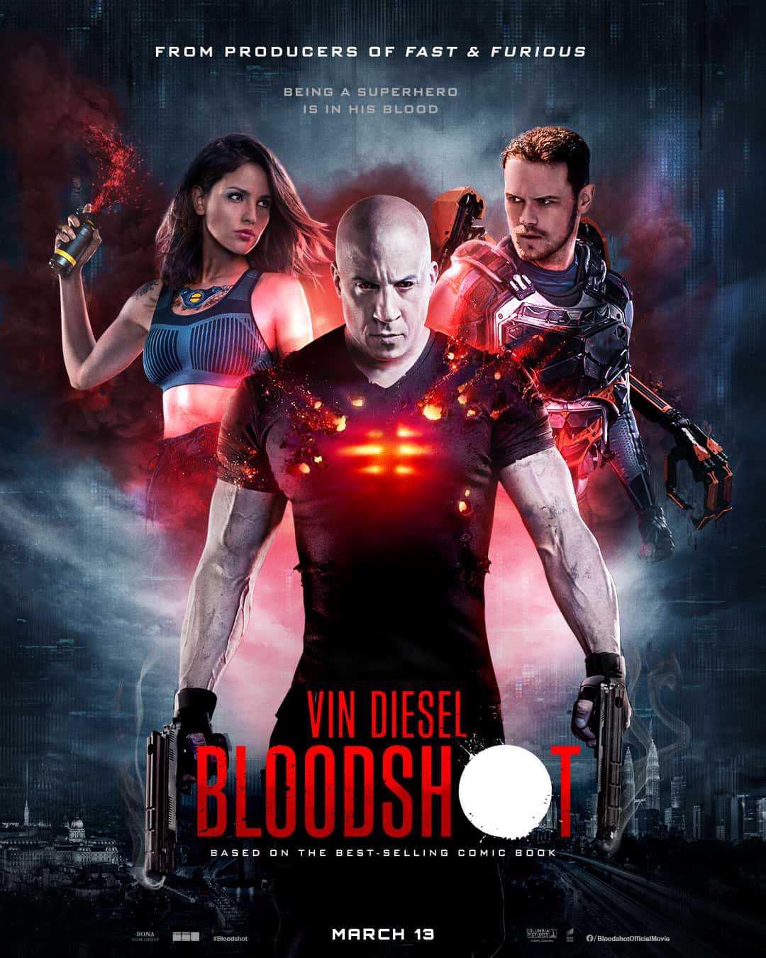 Các diễn viên trong Bloodshot