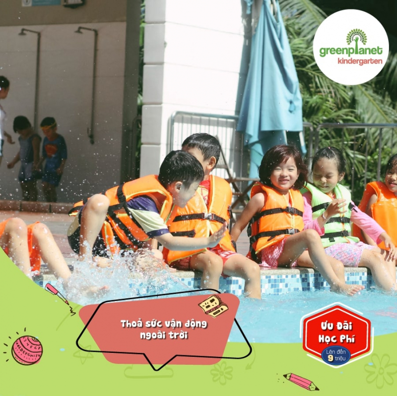 Các hoạt động ngoài trời giúp trẻ củng cố kỹ năng mềm, vận dụng những điều đã học vào thực tiễn.