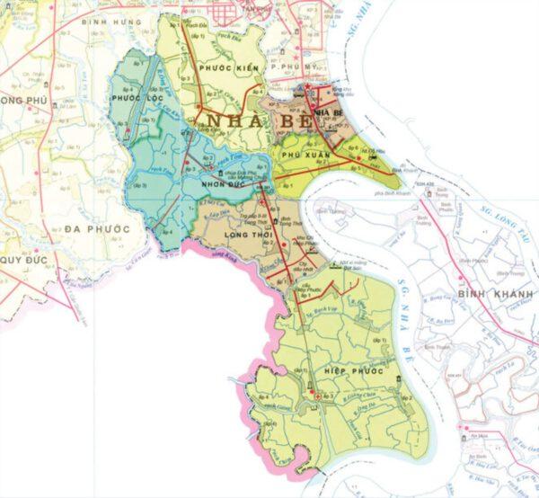 Danh sách những tên đường ở Huyện Nhà Bè Thành Phố Hồ Chí Minh