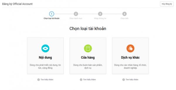 hướng dẫn tạo chatbot Zalo