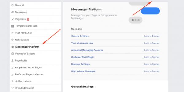 hướng dẫn tạo chat facebook trên web
